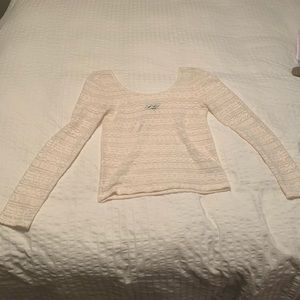 American Eagle long sleeve lace top